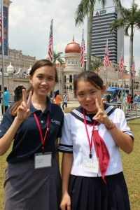 3rd Miyoshimachi Junior High School Overseas Delegation,Japan